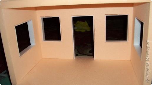 Мастер-класс, Проект,  Конструктор, : Домик в детский сад Пенопласт . Фото 21