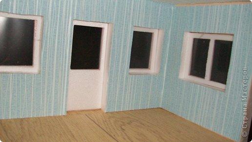 Мастер-класс, Проект,  Конструктор, : Домик в детский сад Пенопласт . Фото 26