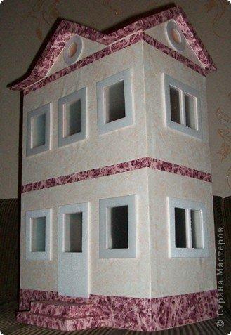 Мастер-класс, Проект,  Конструктор, : Домик в детский сад Пенопласт . Фото 29
