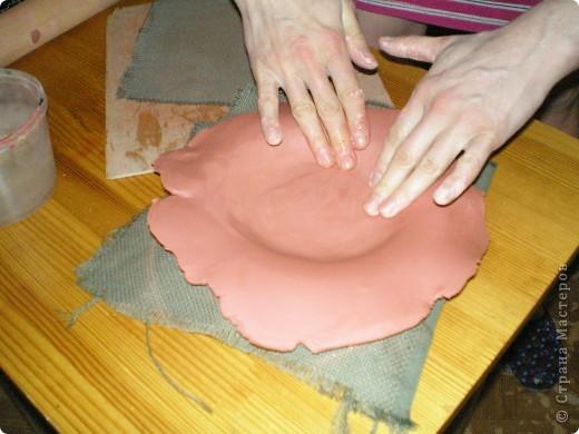 Сделать в домашних условиях тарелку