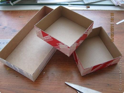Мастер-класс, Упаковка Декупаж: коробка-ширма и мини МК  Картон, Салфетки. Фото 5