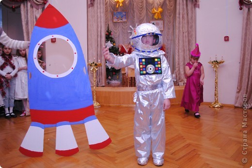 На новый год сын пожелал быть космонавтом :))Вот что у меня получилось.... Фото 14