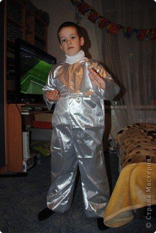 На новый год сын пожелал быть космонавтом :))Вот что у меня получилось.... Фото 7