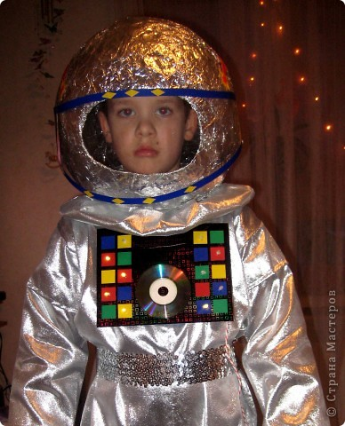На новый год сын пожелал быть космонавтом :))Вот что у меня получилось.... Фото 8