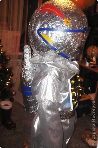 На новый год сын пожелал быть космонавтом :))Вот что у меня получилось.... Фото 12