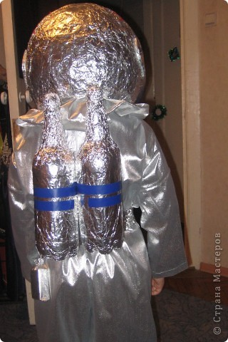 На новый год сын пожелал быть космонавтом :))Вот что у меня получилось.... Фото 11