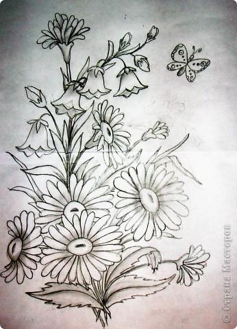 Делая ромашки для подарка к 8 марта решила показать вам поэтапно как делаются самые простые цветы из соломки с приданием полуобъема. МК для начинающих, кто еще не умеет работать с соломкой, поэтому все подробно. . Фото 2