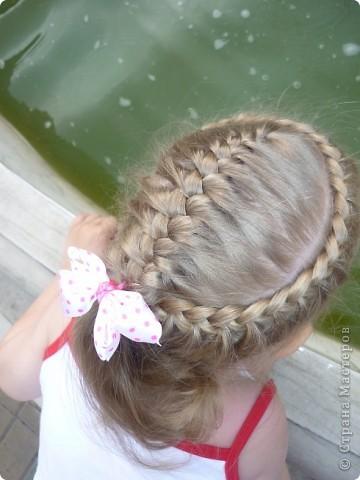косы с лентами - Плетение.