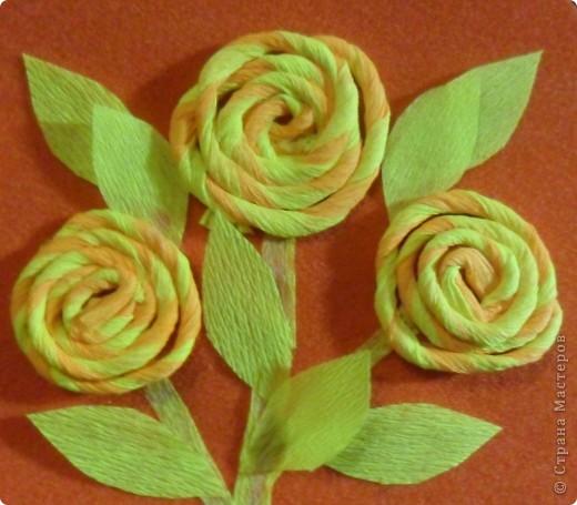 Объемные розы своими руками из гофрированной бумаги
