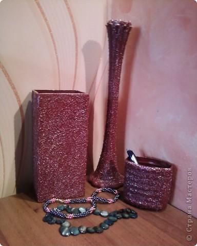 Декор предметов, Поделка, изделие Декупаж: Работа с крупой. Крупа. Фото 4