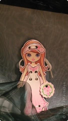 Куклы: идея с магазина для тех девочек модниц которые учатся завязывать банты шнурки День рождения. Фото 1