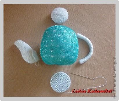 Мастер-класс Шитьё: Ароматные чайнички. МК.  Ткань 8 марта. Фото  14