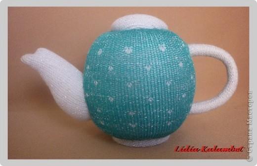 Мастер-класс Шитьё: Ароматные чайнички. МК.  Ткань 8 марта. Фото  17