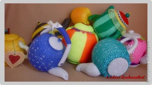 Мастер-класс Шитьё: Ароматные чайнички. МК.  Ткань 8 марта. Фото  21