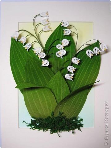 Картина, панно, рисунок Квиллинг: Сувениры к празднику Бумага 8 марта. Фото 2