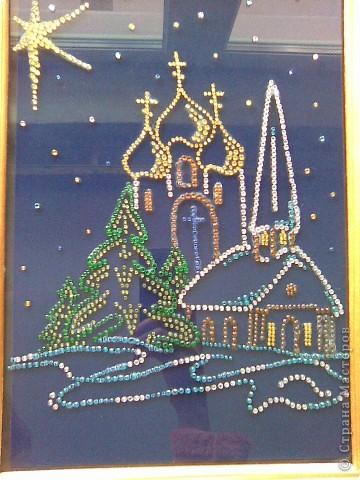 Картины о рождестве своими руками