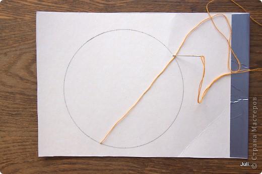 Поделка, изделие Плетение: Как я плела паутинку к своей рыбке-ловцу снов Тесто соленое. Фото 4