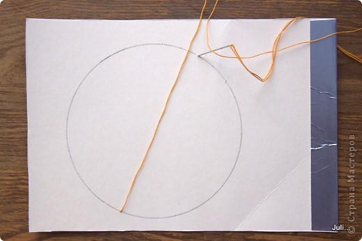 Поделка, изделие Плетение: Как я плела паутинку к своей рыбке-ловцу снов Тесто соленое. Фото 3