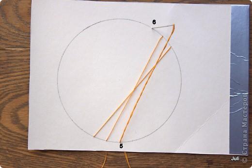 Поделка, изделие Плетение: Как я плела паутинку к своей рыбке-ловцу снов Тесто соленое. Фото 6
