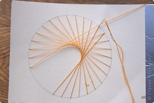 Поделка, изделие Плетение: Как я плела паутинку к своей рыбке-ловцу снов Тесто соленое. Фото 12