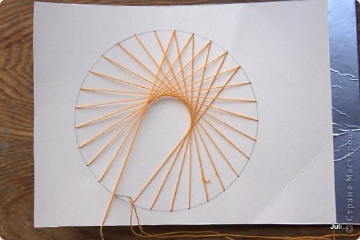 Поделка, изделие Плетение: Как я плела паутинку к своей рыбке-ловцу снов Тесто соленое. Фото 13