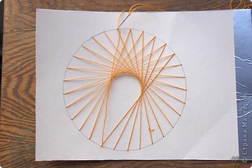 Поделка, изделие Плетение: Как я плела паутинку к своей рыбке-ловцу снов Тесто соленое. Фото 14