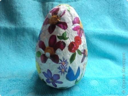 Поделка пасхальное яйцо в школу