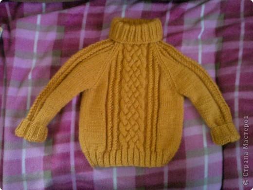 Вязание детские свитера на мальчиков