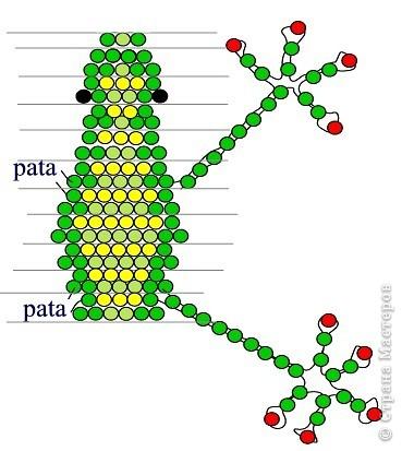 подробная схема плетения из бисера сердечка для начинающих.