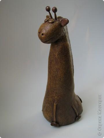 Мастер-класс, Поделка, изделие,  Лепка, Роспись, : Жирафа + подробности по раскраске Тесто соленое . Фото 5
