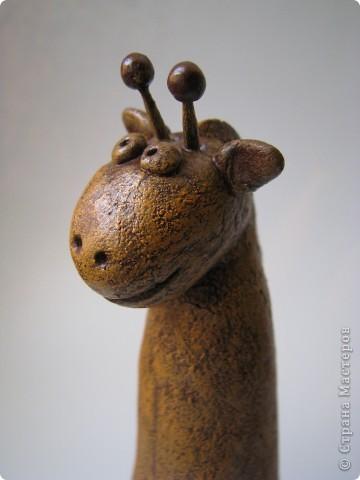 Мастер-класс, Поделка, изделие,  Лепка, Роспись, : Жирафа + подробности по раскраске Тесто соленое . Фото 7