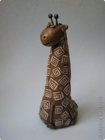 Мастер-класс, Поделка, изделие,  Лепка, Роспись, : Жирафа + подробности по раскраске Тесто соленое . Фото 8