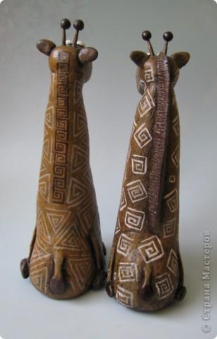 Мастер-класс, Поделка, изделие,  Лепка, Роспись, : Жирафа + подробности по раскраске Тесто соленое . Фото 11