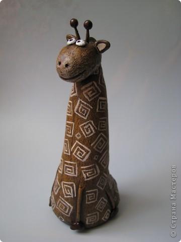 Мастер-класс, Поделка, изделие,  Лепка, Роспись, : Жирафа + подробности по раскраске Тесто соленое . Фото 9