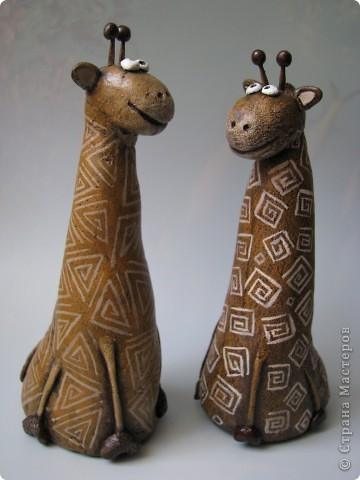 Мастер-класс, Поделка, изделие,  Лепка, Роспись, : Жирафа + подробности по раскраске Тесто соленое . Фото 12