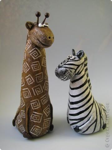 Мастер-класс, Поделка, изделие,  Лепка, Роспись, : Жирафа + подробности по раскраске Тесто соленое . Фото 14