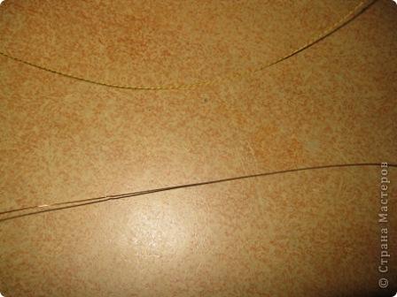 Мастер-класс Ганутель: Хочу показать простой способ скручивания нитки и проволоки для ганутель Нитки. Фото 4