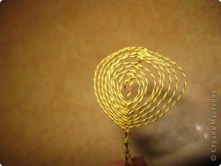 Мастер-класс Ганутель: Хочу показать простой способ скручивания нитки и проволоки для ганутель Нитки. Фото 13