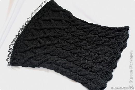 Мастер-класс,  Вязание спицами, : Вязаный корсетик . Фото 1