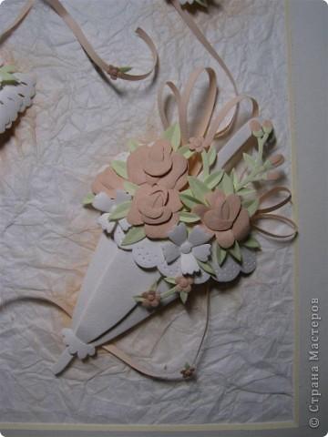 Картина, панно,  Бумагопластика, : Зонтики Бумага . Фото 3