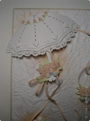 Картина, панно,  Бумагопластика, : Зонтики Бумага . Фото 2
