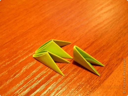 Мастер-класс,  Оригами модульное, : Друг для Тимоши Бумага . Фото 2