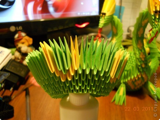 Мастер-класс,  Оригами модульное, : Друг для Тимоши Бумага . Фото 6