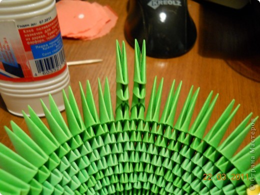 Мастер-класс,  Оригами модульное, : Друг для Тимоши Бумага . Фото 14