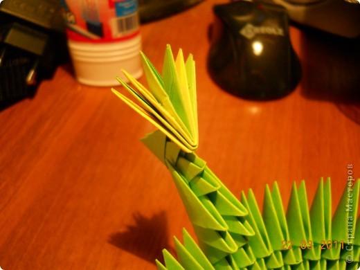 Мастер-класс,  Оригами модульное, : Друг для Тимоши Бумага . Фото 16