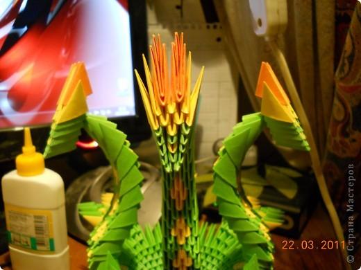 Мастер-класс,  Оригами модульное, : Друг для Тимоши Бумага . Фото 21