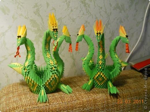 Мастер-класс,  Оригами модульное, : Друг для Тимоши Бумага . Фото 23