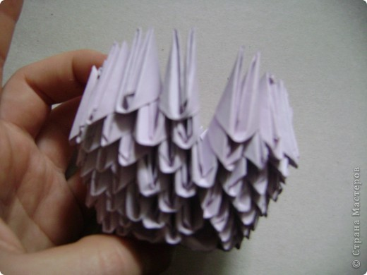 Мастер-класс,  Оригами модульное, : Крыска Лариска + МК Бумага . Фото 13