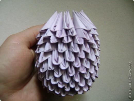 Мастер-класс,  Оригами модульное, : Крыска Лариска + МК Бумага . Фото 15