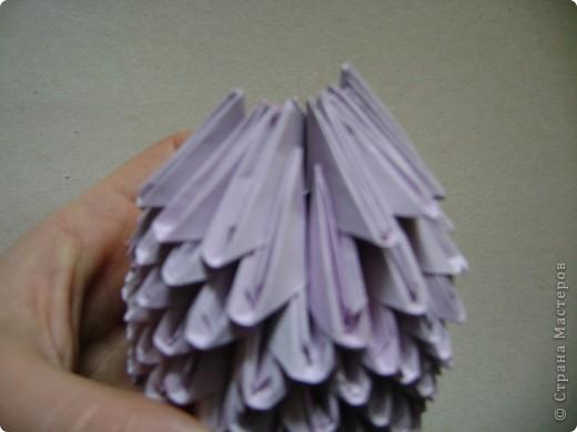 Мастер-класс,  Оригами модульное, : Крыска Лариска + МК Бумага . Фото 16